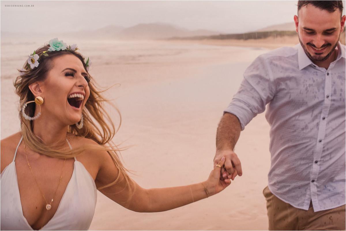 ensaio de noivos praia da joaquina