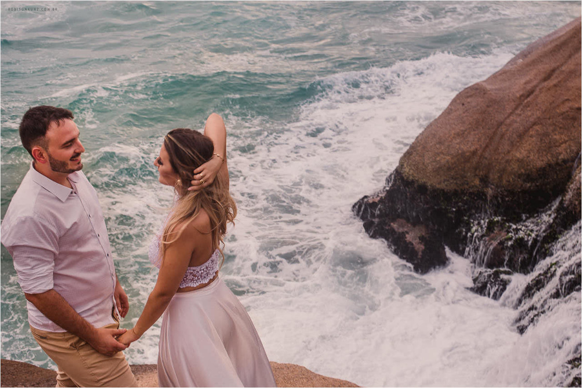 beira do mar praia da joaquina