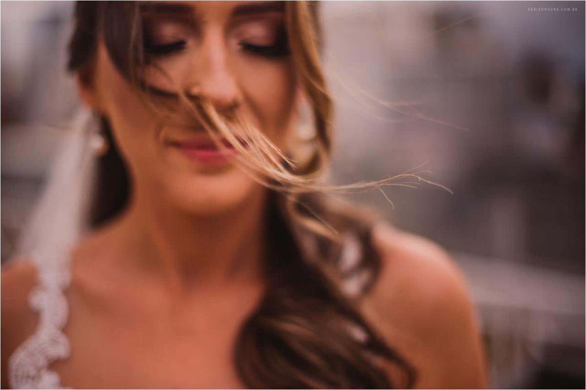 foto diferente da noiva pronta