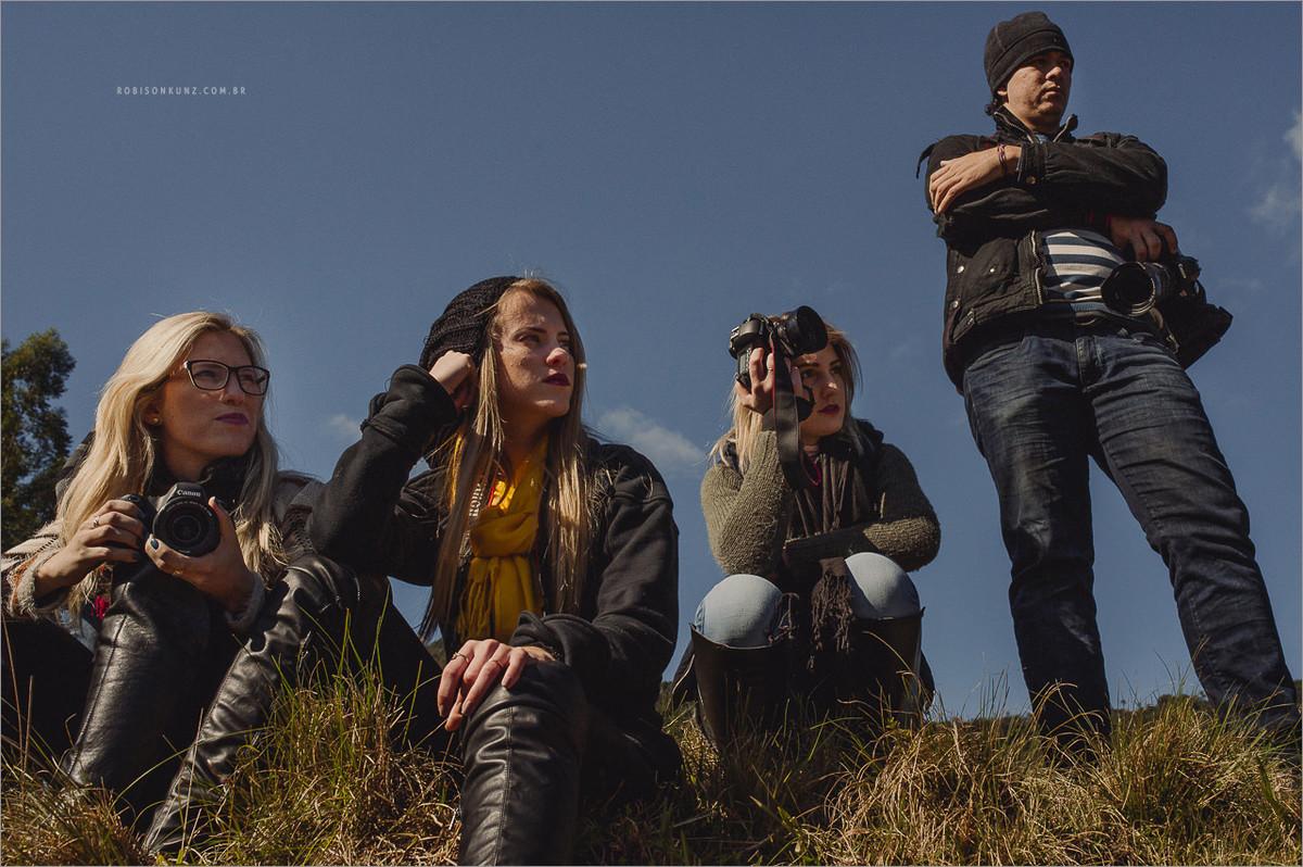 fotografos em parte pratica