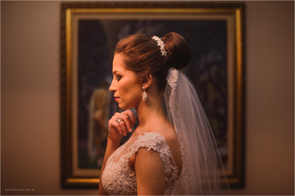 retrato diferente de noiva