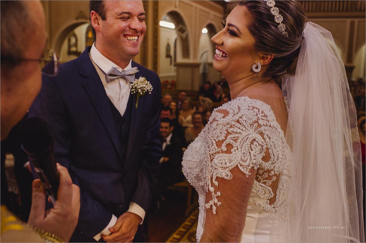 foto espontânea a de casamento