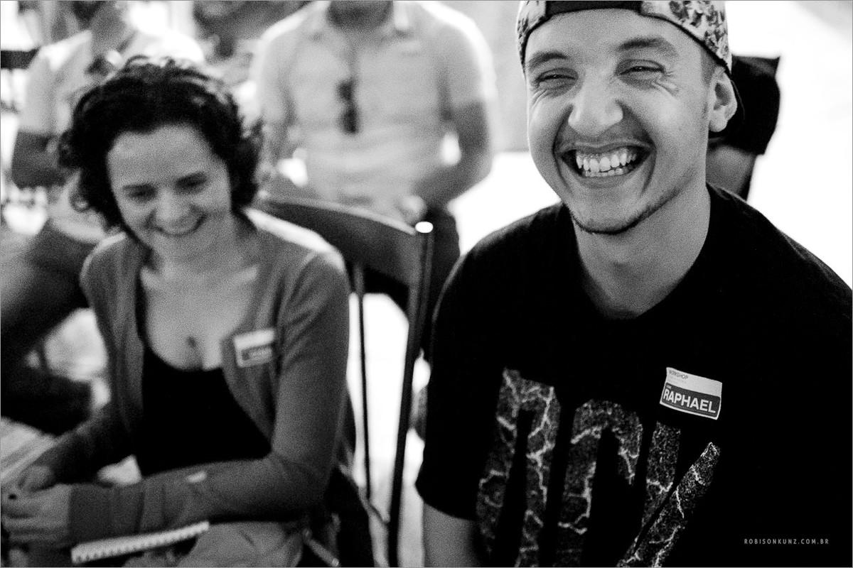 sorriso sincero