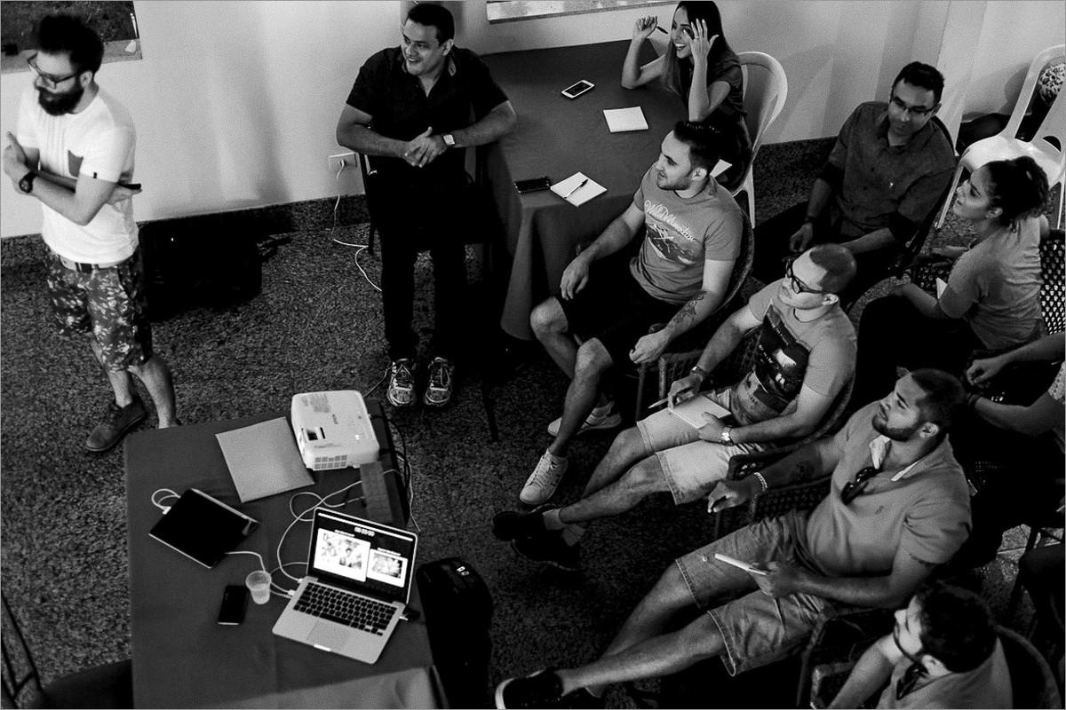 workshop com robison kunz