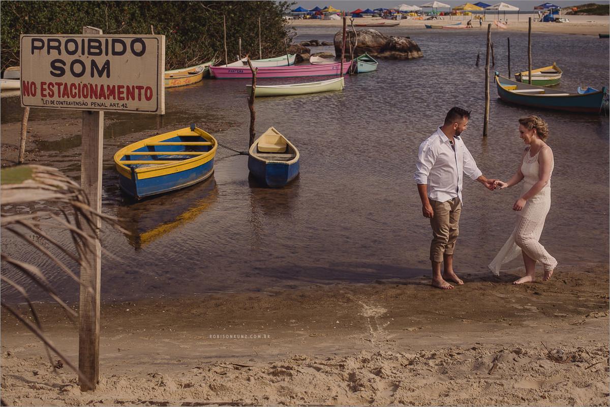 noivos na praia da guarda