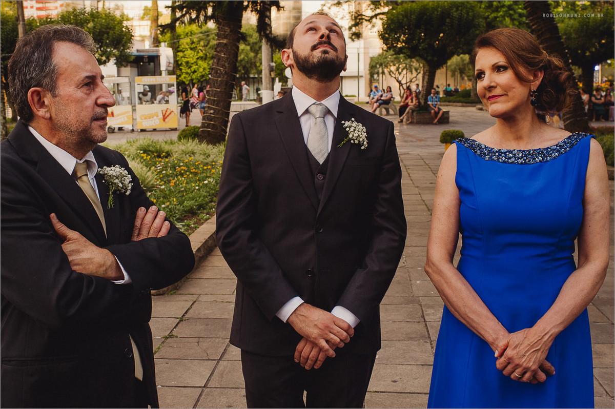 noivo nervoso antes do casamento