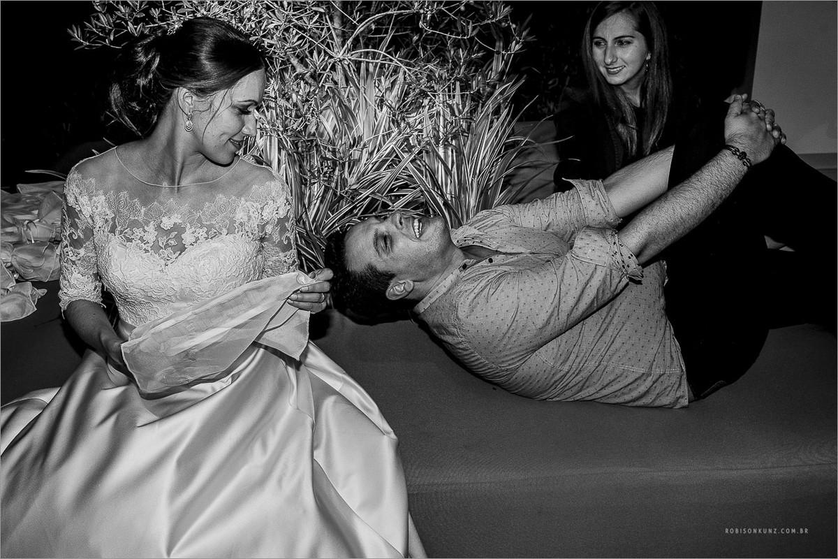 fotos no final de casamento
