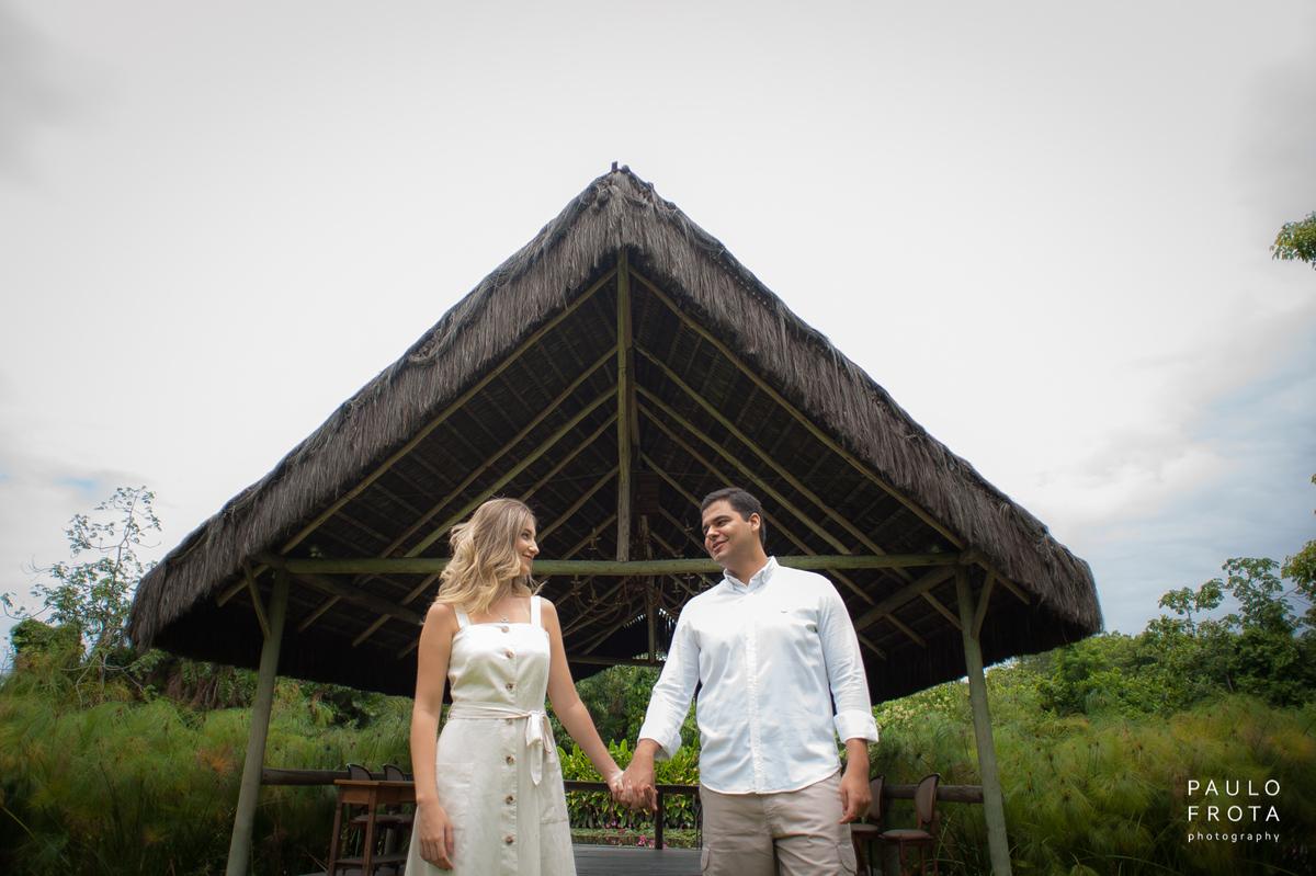 Imagem capa - Ensaio Pré Casamento - Victoria e Jonathas - Sítio Meio do Mato por Paulo Frota