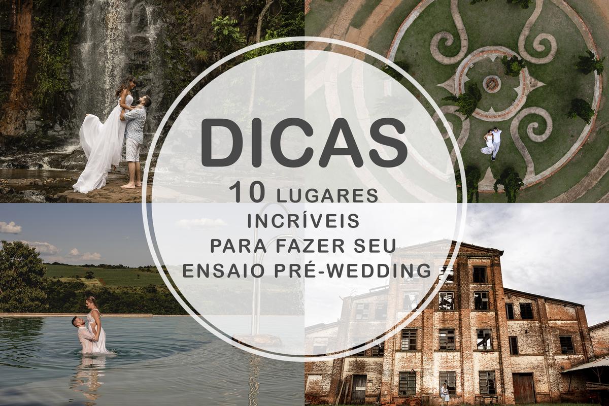 Imagem capa - 10 LUGARES INCRÍVEIS PARA SEU ENSAIO PRÉ-WEDDING! por Leandro Masson