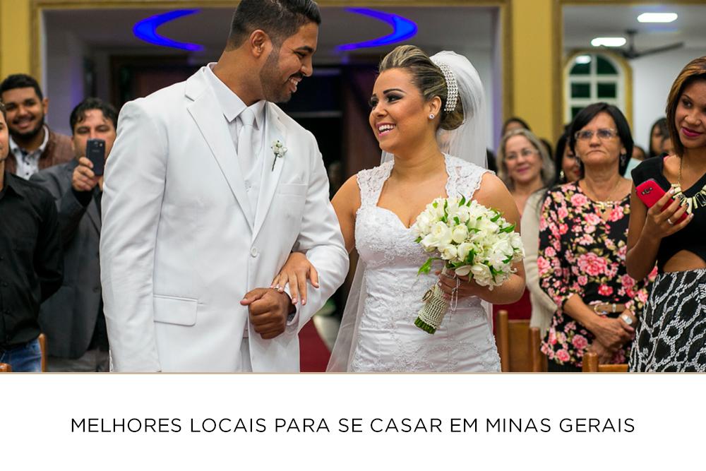 Imagem capa - Melhores locais para se casar em Minas Gerais por Josie Nader