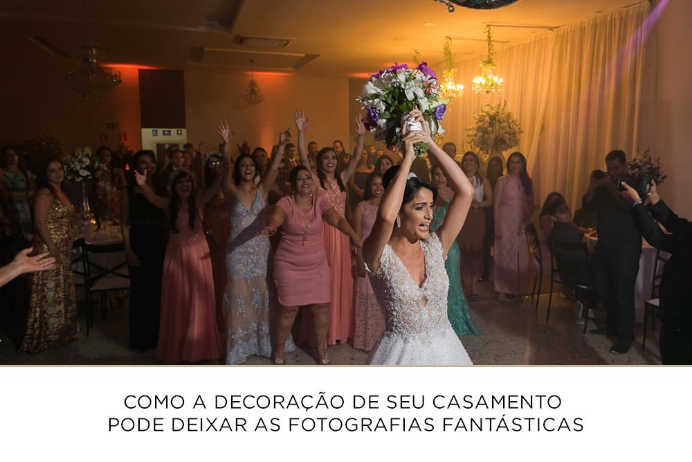 Imagem capa - Como a decoração de seu casamento pode deixar as fotografias fantásticas por Josie Nader