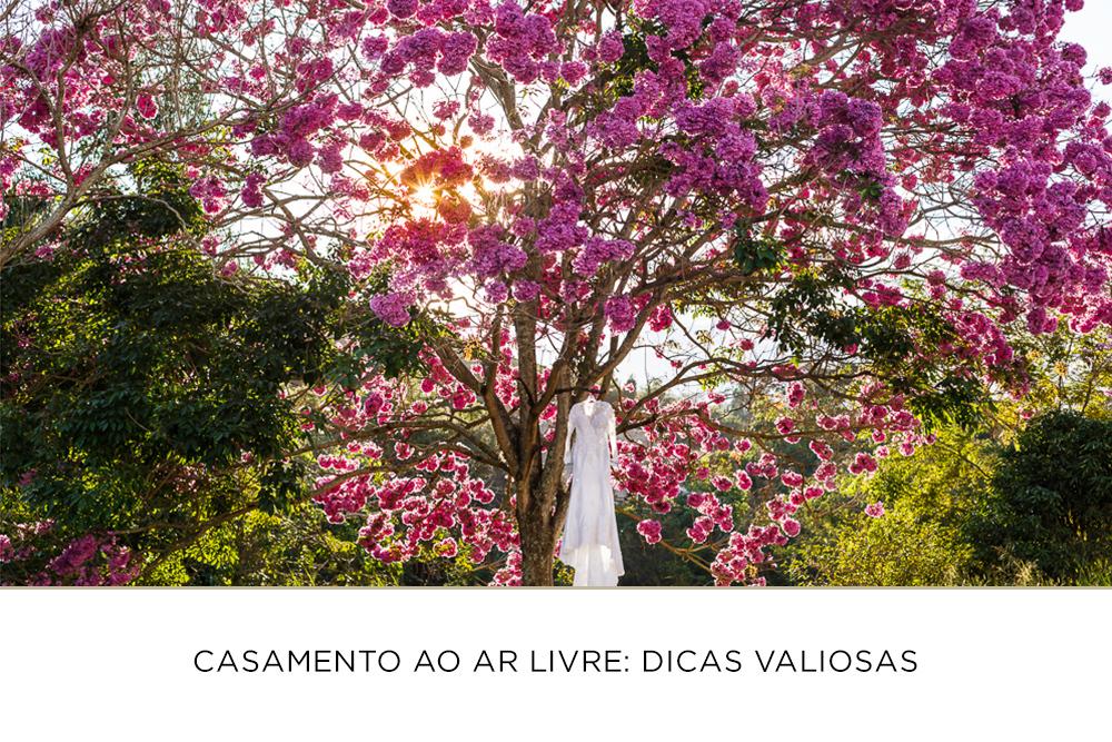 Imagem capa - Casamento ao ar livre: Dicas valiosas por Josie Nader