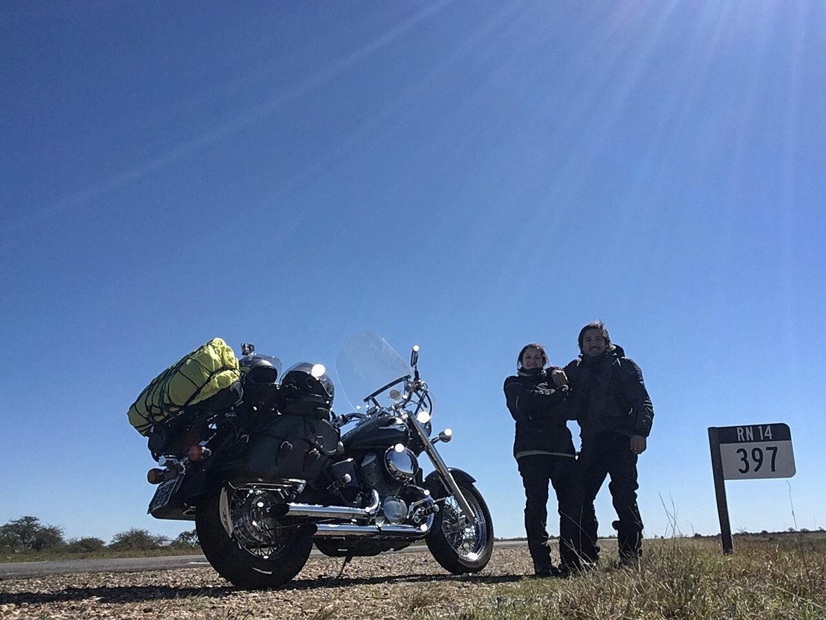 Imagem capa - Video resumen del segundo día de viaje en motocicleta por Mariano Sosa