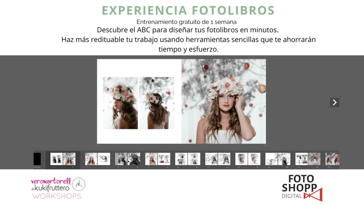 Imagem capa - Apúntate gratis a  Experiencia Fotolibros por Vero Martorell