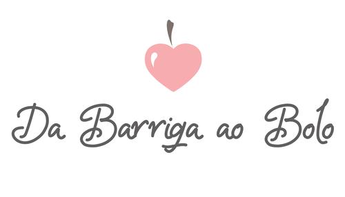Logotipo de Estúdio Da Barriga ao Bolo