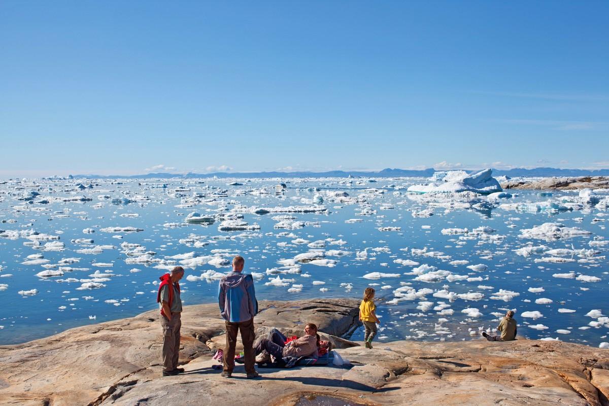 Imagem capa - Copacabana na Groenlândia por Érico Hiller