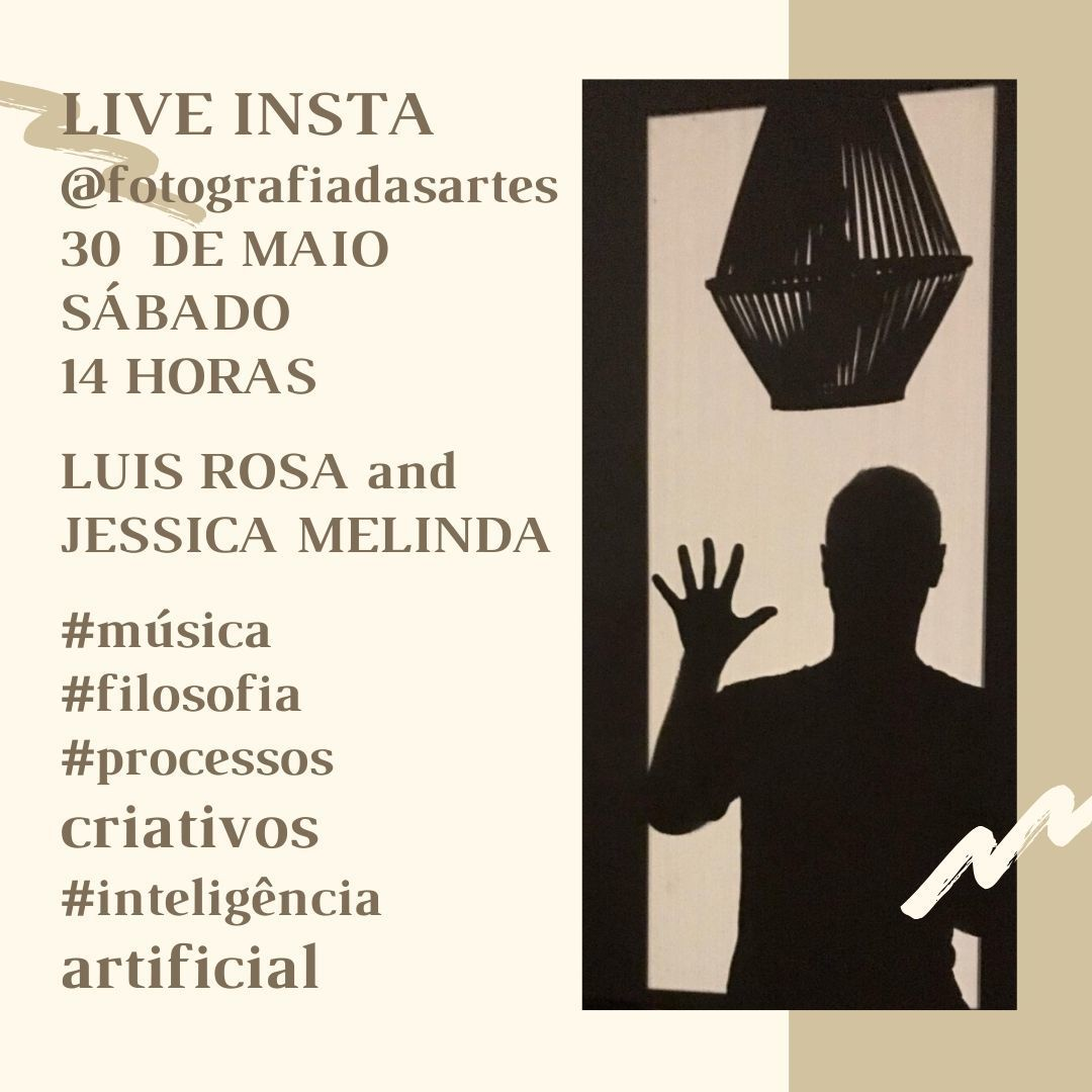 Imagem capa - LIVE INSTA COM LUIS ROSA por Jessica Melinda