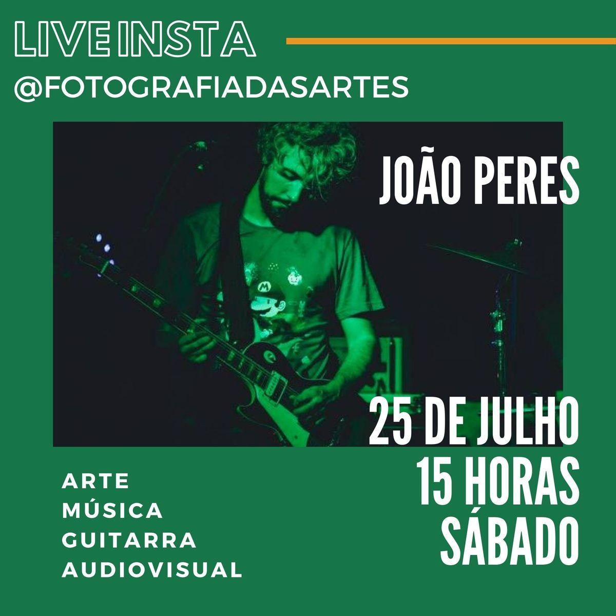 Imagem capa - LIVE INSTA COM JOÃO PERES por Jessica Melinda