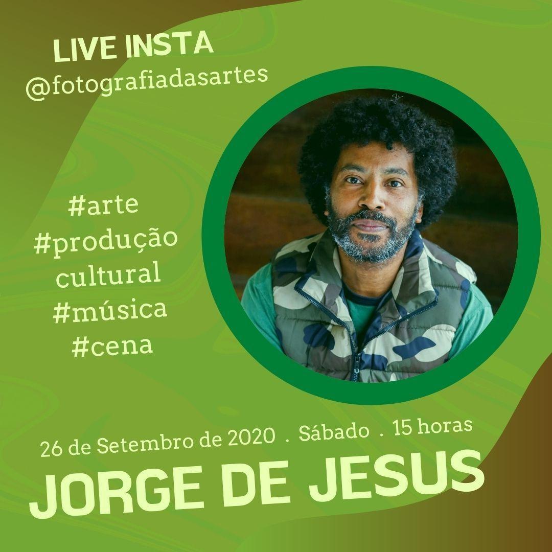 Imagem capa - LIVE COM JORGE DE JESUS por Jessica Melinda