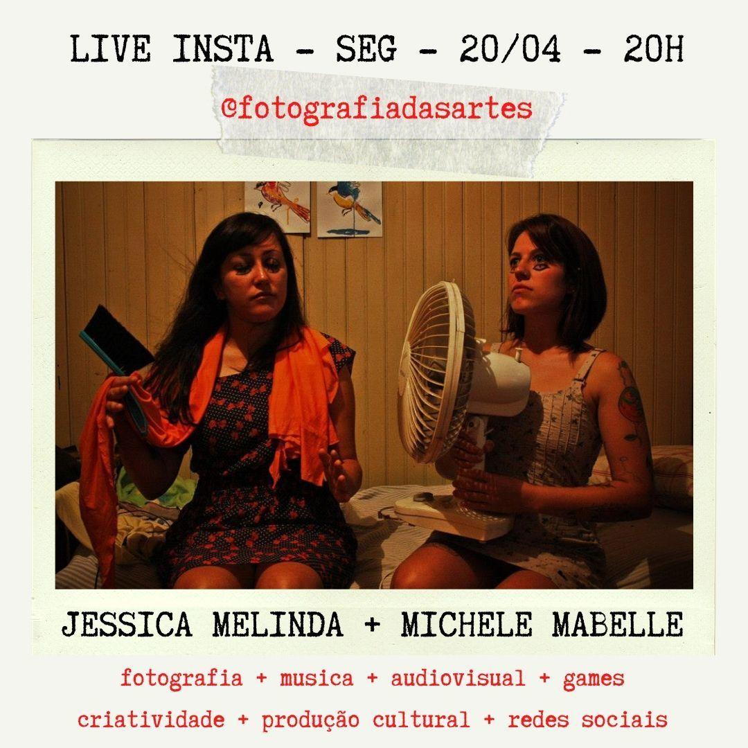 Imagem capa - LIVE NO INSTA COM MICHELE MABELLE por Jessica Melinda