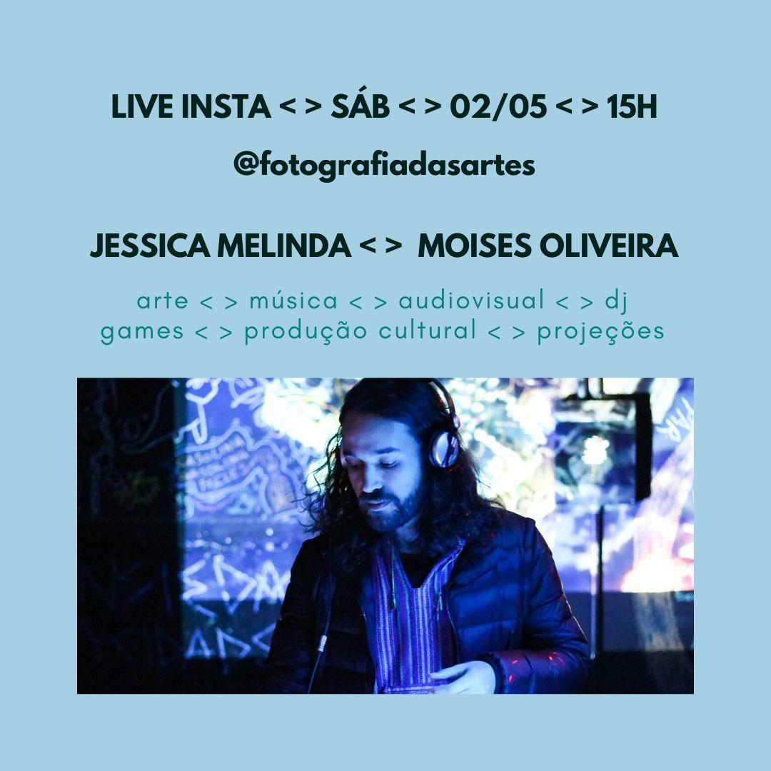 Imagem capa - LIVE INSTA COM MOISES OLIVEIRA por Jessica Melinda