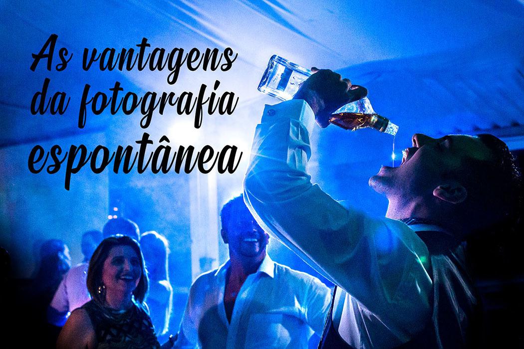 Imagem capa - As vantagens de fazer fotos espontâneas no seu casamento  por Andre Attene