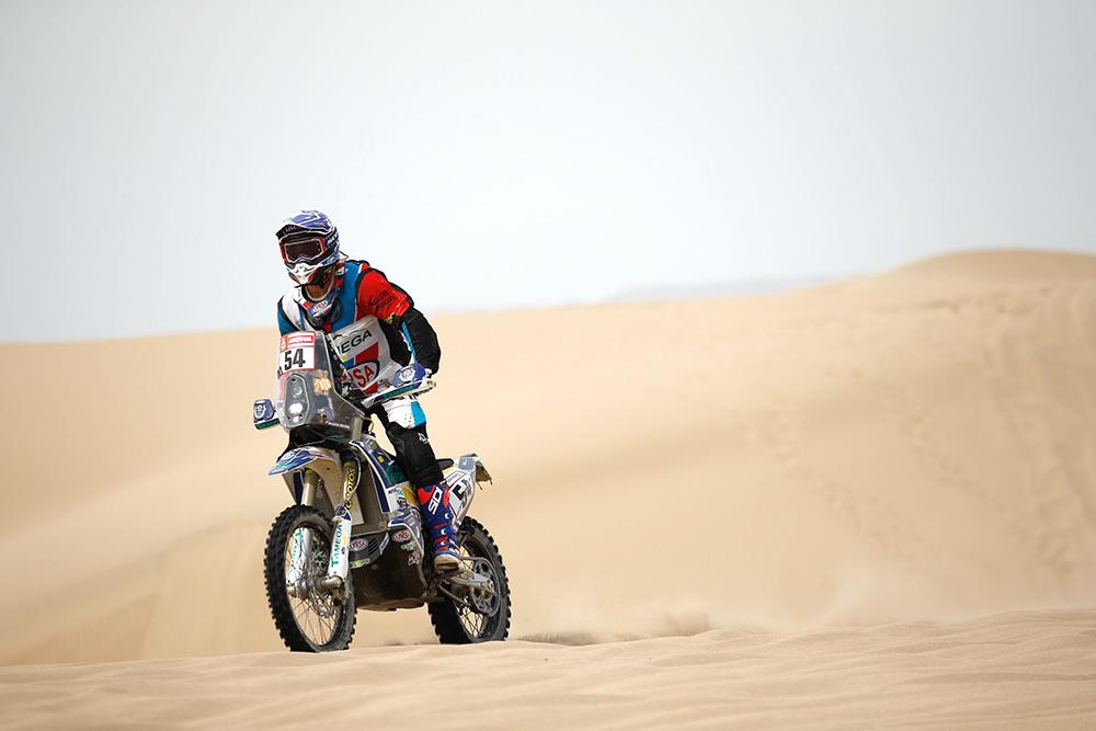 Imagem capa - Dakar 2019: Fausto Mota com um 5º lugar da Classe Maratona na segunda etapa por Motor Clube do Marco