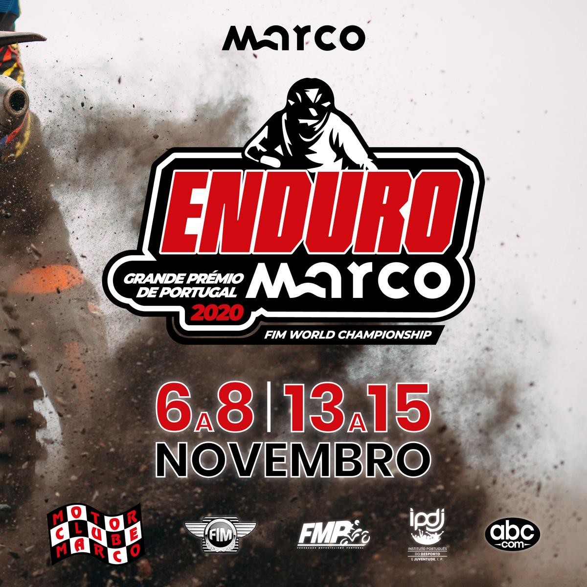 Imagem capa - Marco de Canaveses vai acolher duas provas do calendário do Campeonato do Mundo de Enduro 2020 por Motor Clube do Marco