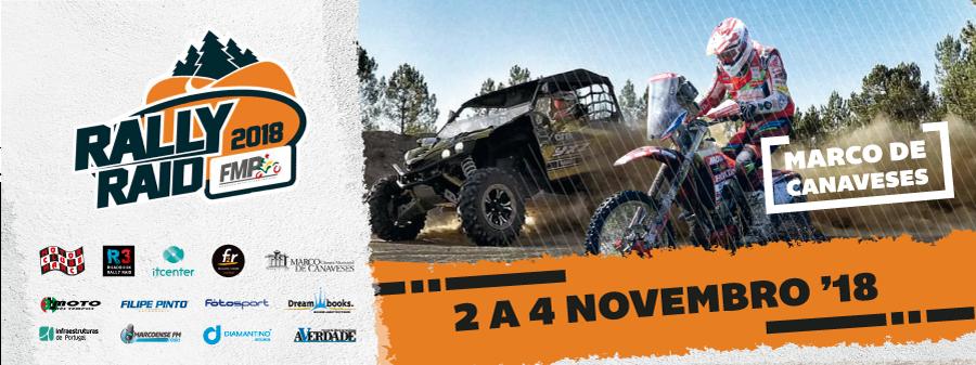 Imagem capa - Promova a sua viatura de competição no Rally Raid Marco de Canaveses por Motor Clube do Marco