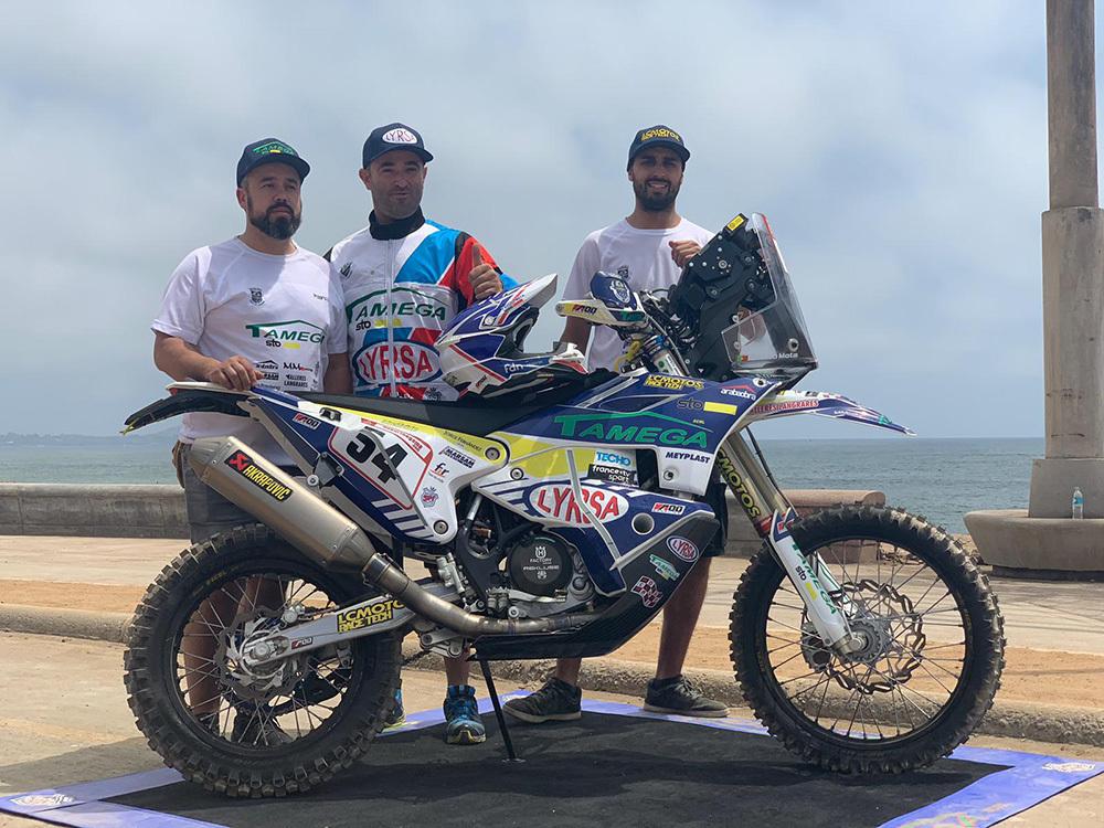 Imagem capa - Fausto Mota confiante num bom resultado no Dakar 2019 por Motor Clube do Marco