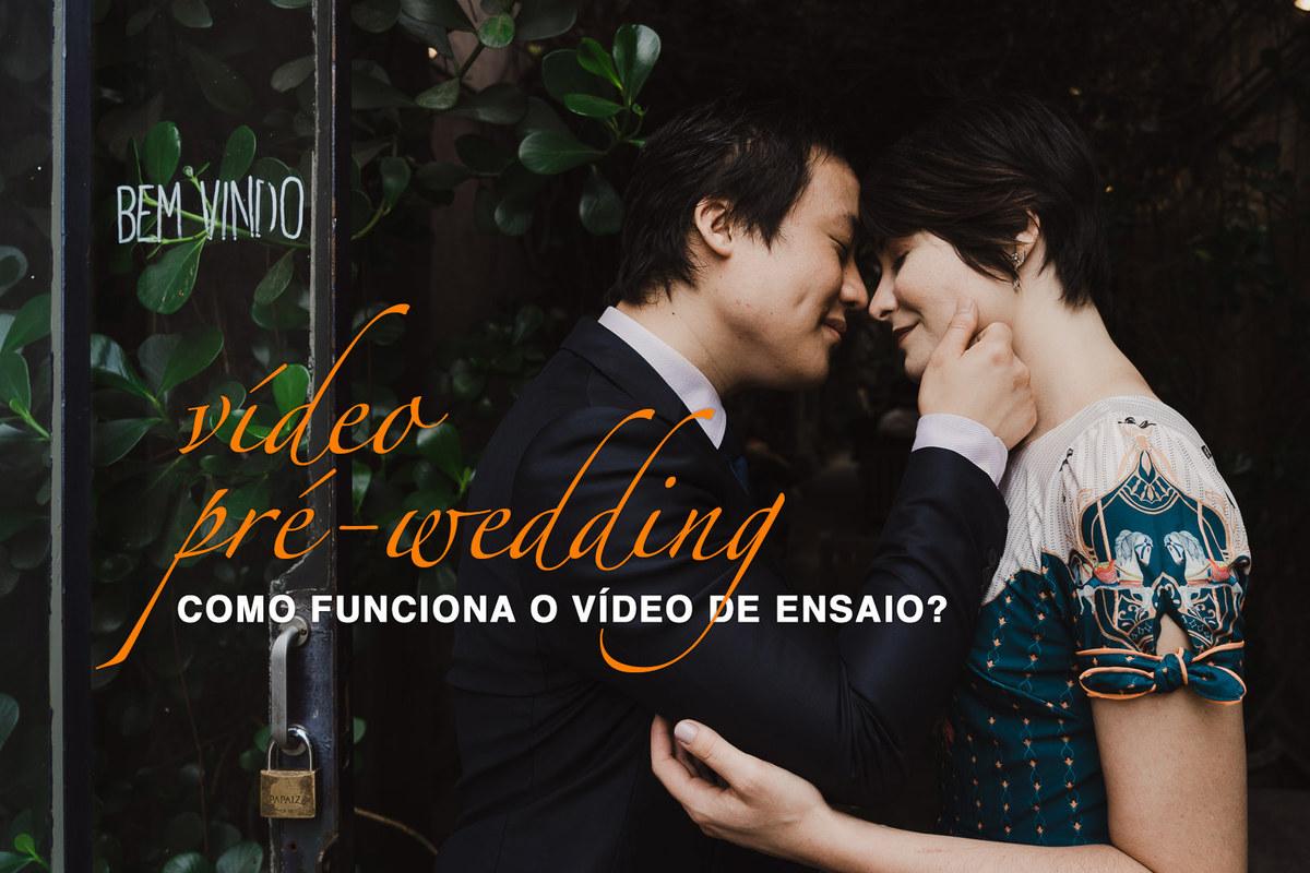 Imagem capa - Como funciona o vídeo do ensaio PRÉ-WEDDING? por Caio Hommer