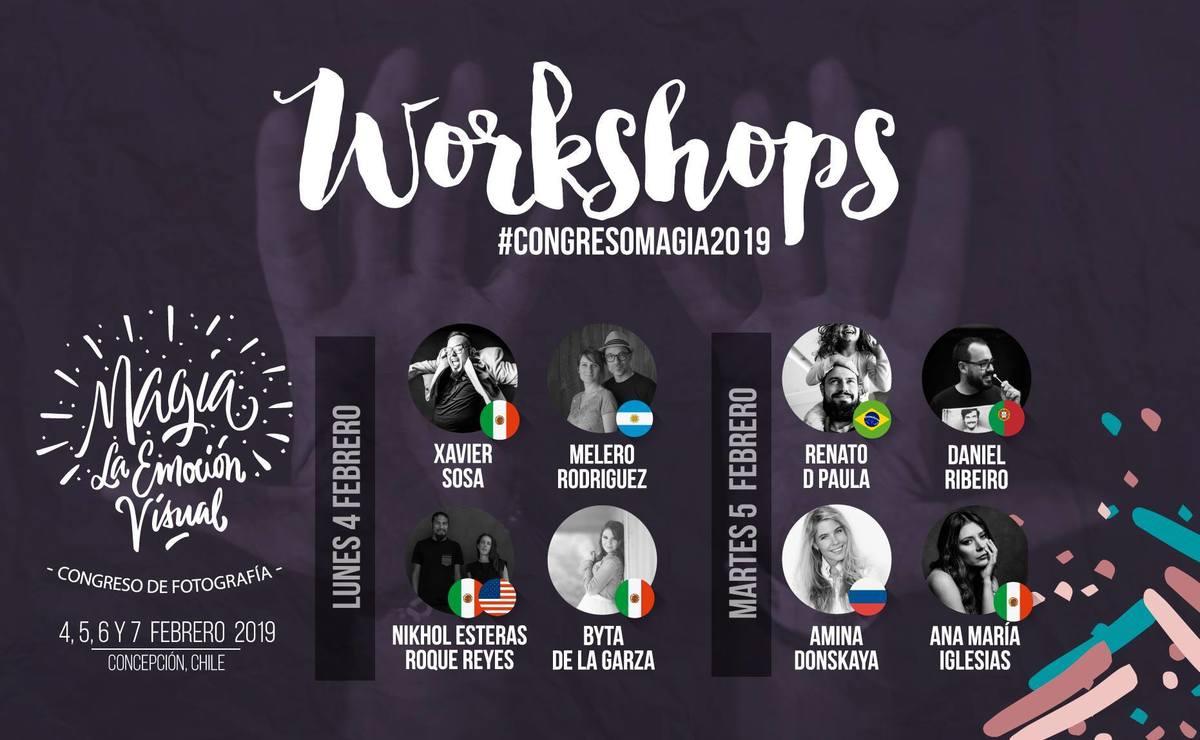 Imagem capa - Congresso de Fotografia Concepción , Chile por Estúdio D