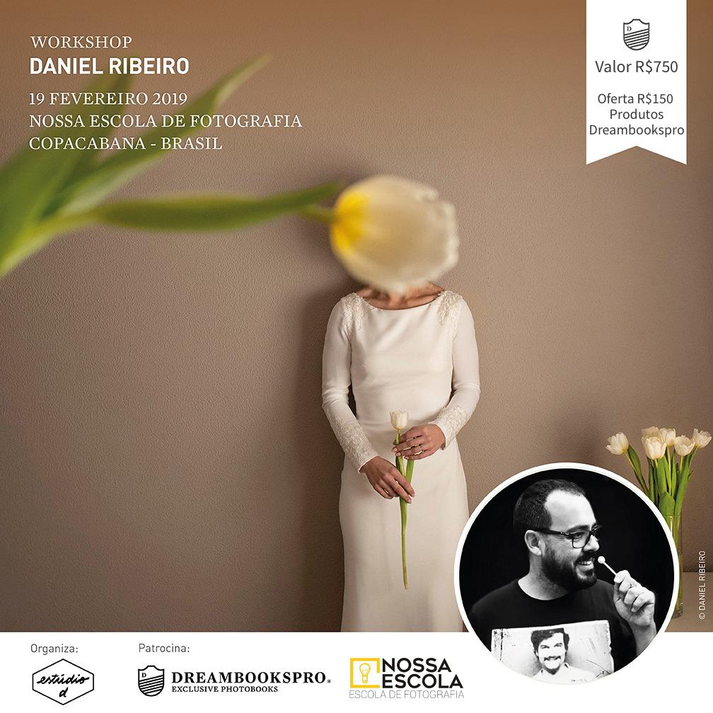 Imagem capa - Workshop Daniel Ribeiro no Rio de Janeiro 2019 por Estúdio D