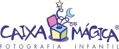 Logotipo de Caixa Mágica Fotografia Infantil