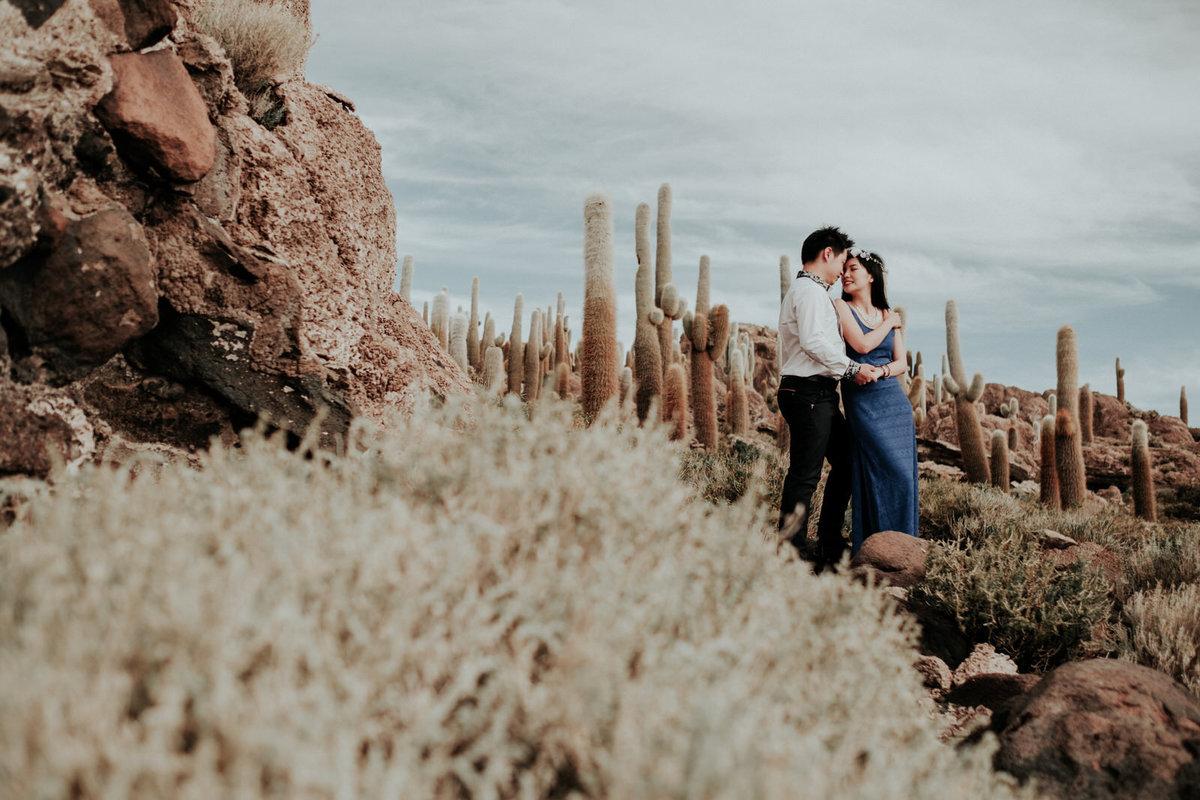 fotos de bodas en uyuni bolivia cactus milenarios