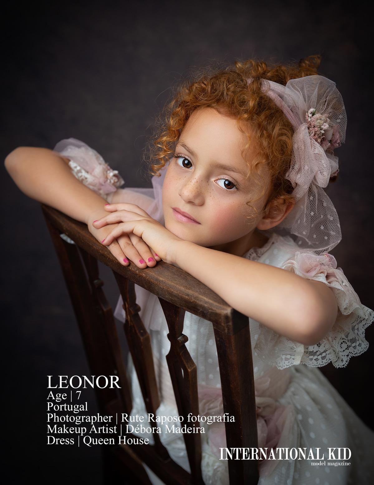 Imagem capa - Ganhamos mais dois destaques na conceituada revista International Kid Model Magazine por Rute Raposo