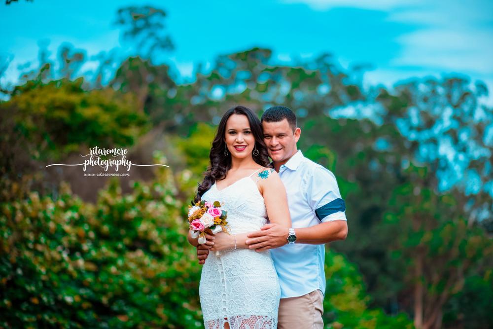 Imagem capa - Ensaio de casal | Camila e Valdeir por Rita Romero