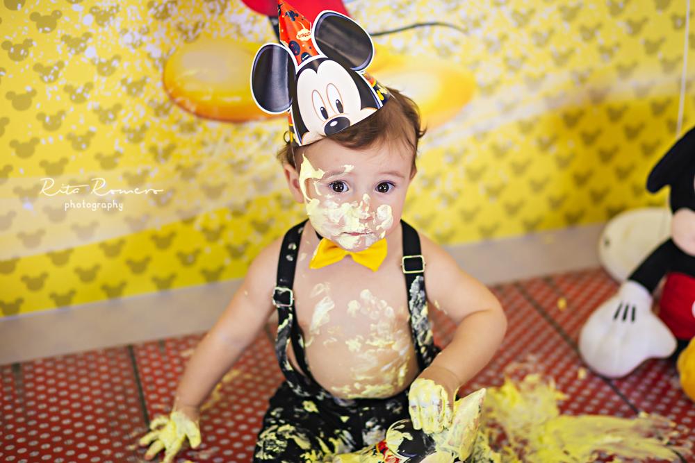 Imagem capa - Smash the cake | Lucca por Rita Romero