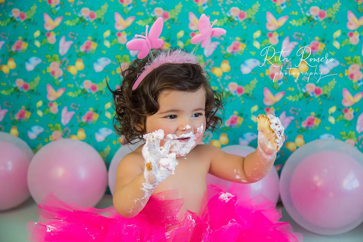 Imagem capa - Smash the cake | Giovanna por Rita Romero