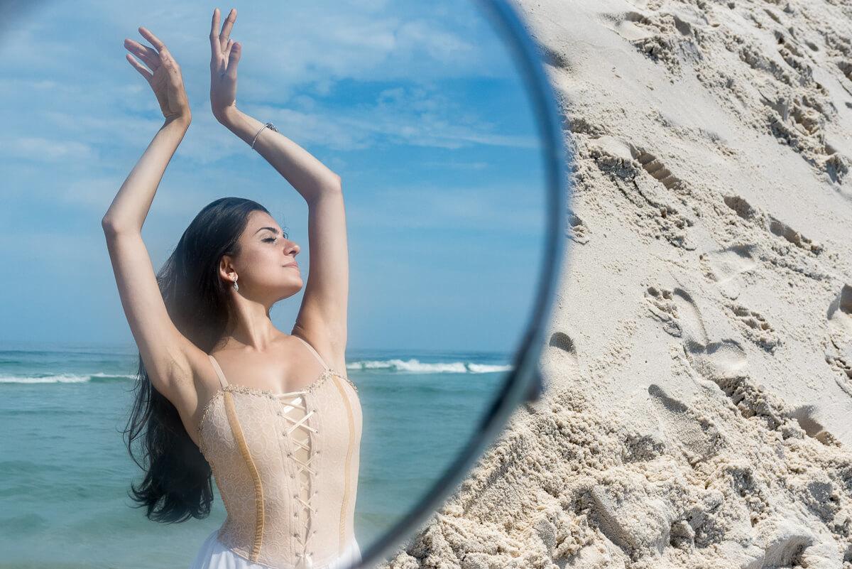 Imagem capa - Por onde andei, bailarina? por Fabiana Bomfim