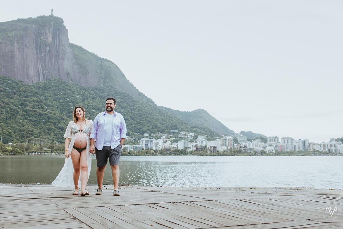 Imagem capa - Espera do Bento | Ensaio de Gestante na Lagoa Rodrigo de Freitas por Vero Fotografia