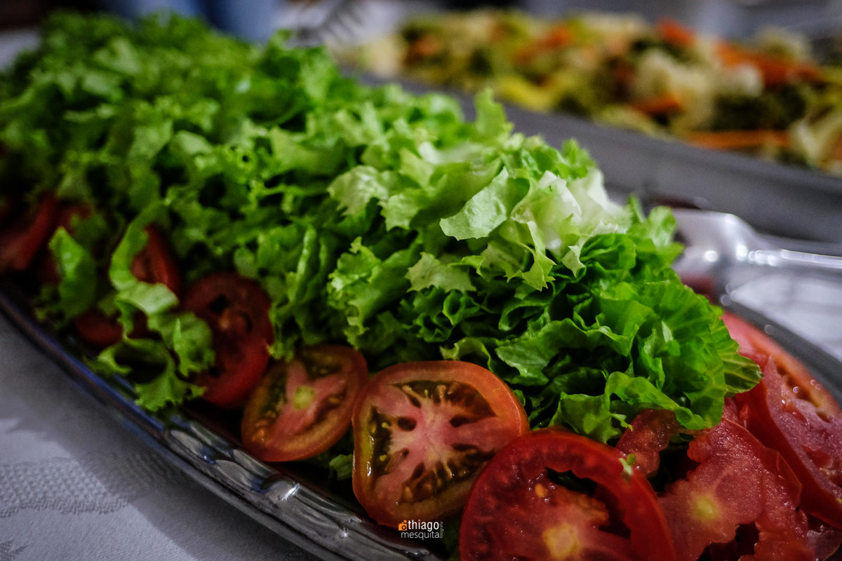 alface e tomate