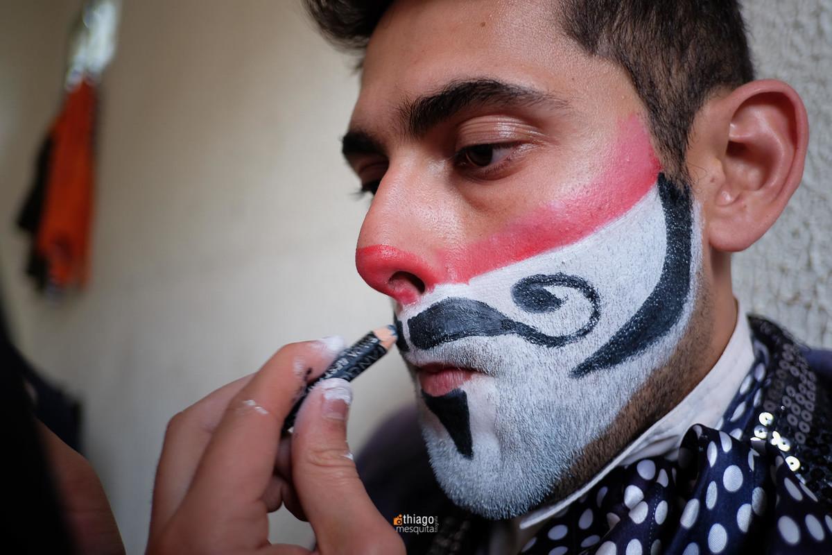 maquiagem circense