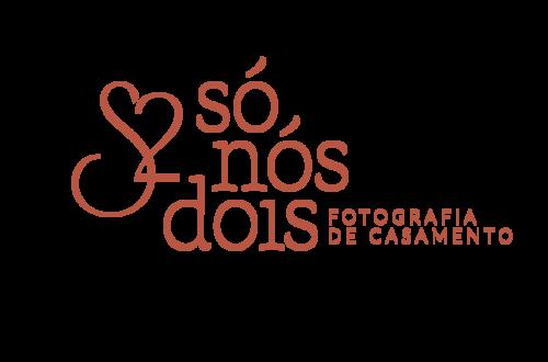 Logotipo de Só Nós Dois - Fotografia de casamento