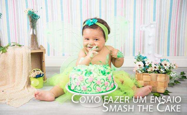 Imagem capa - Como fazer um ensaio Smash the Cake por Yuri Magno