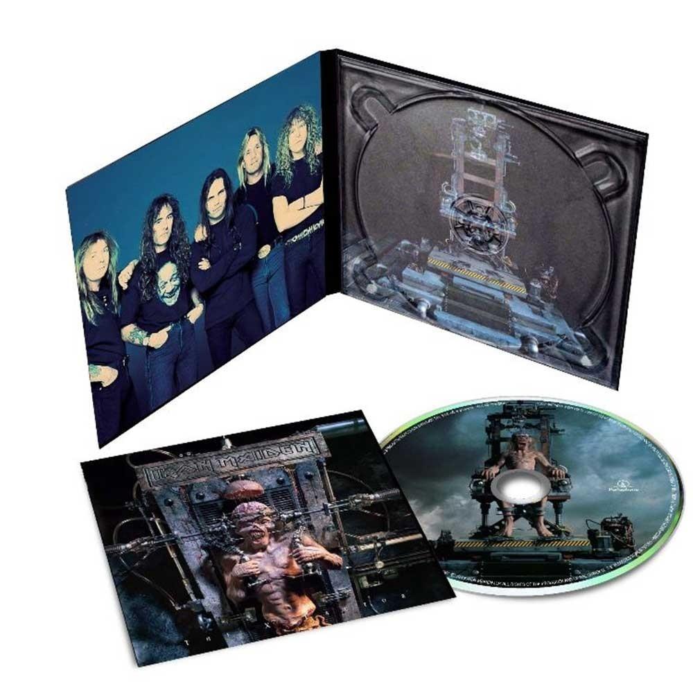 Imagem capa - Iron Maiden - The X Factor e Virtual XI [Na Coleção] por gilson lorenti