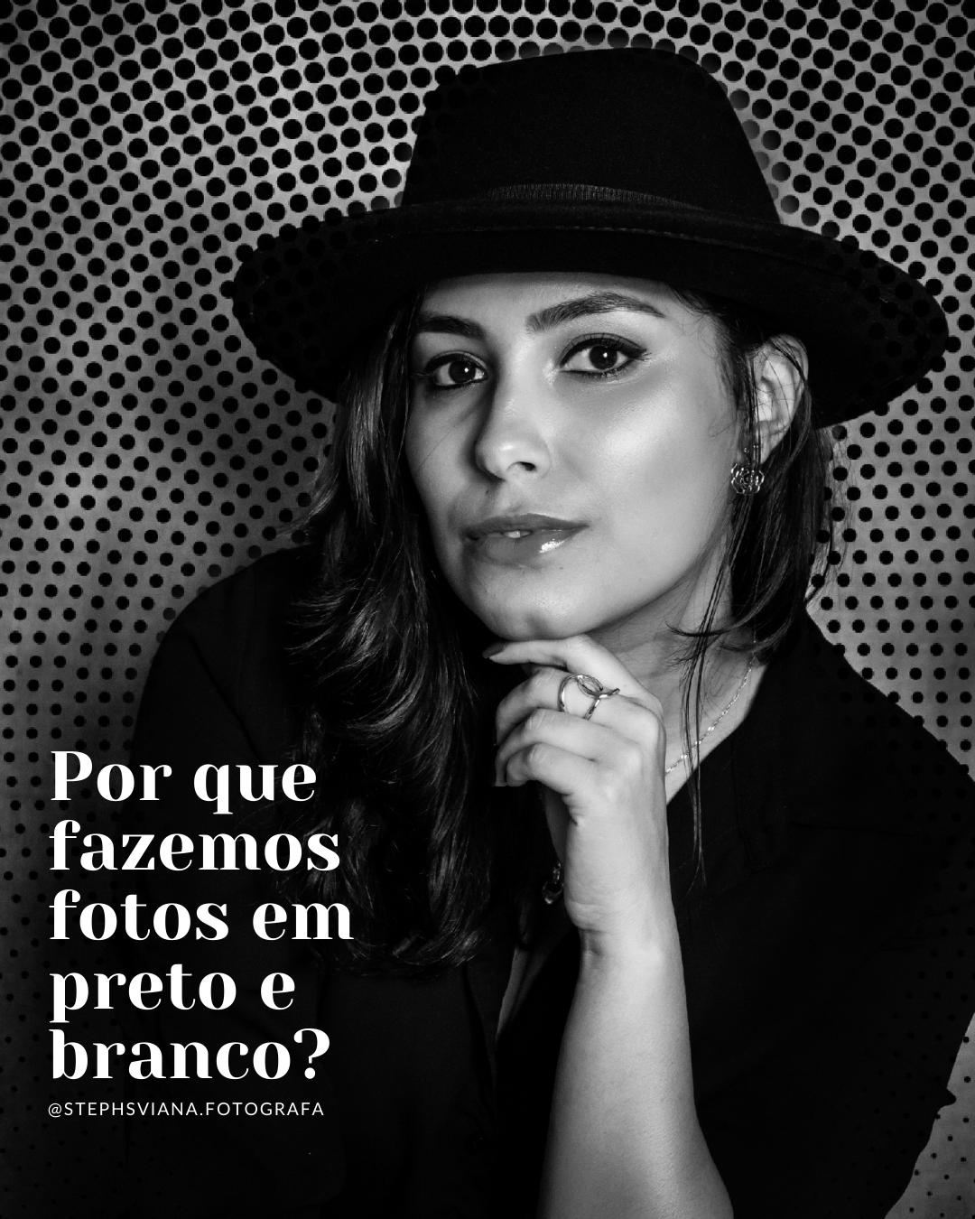 Imagem capa - Por que Fazemos Fotos em Preto e Branco? por Stephanie Viana