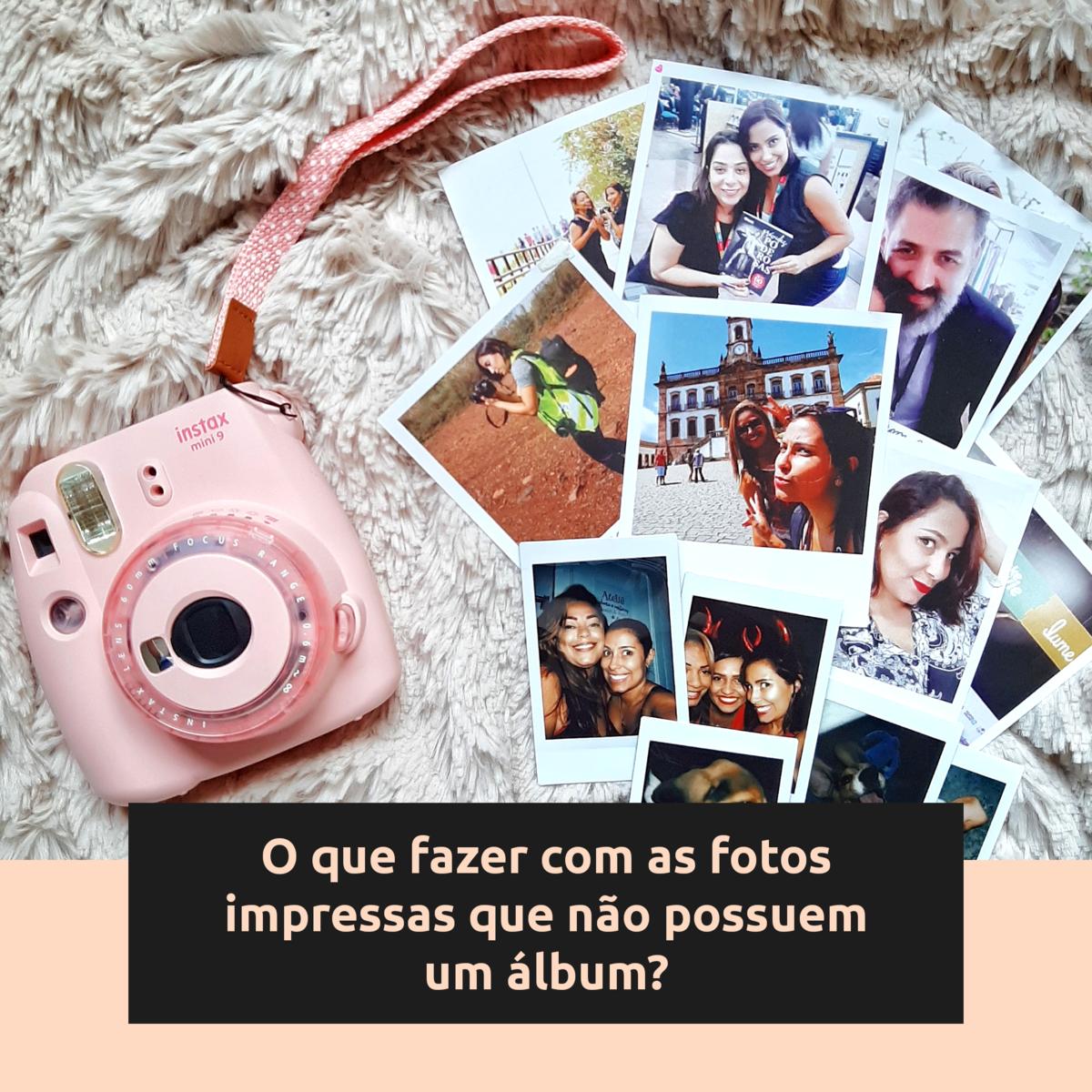 Imagem capa - O que fazer com as fotos impressas que não possuem um álbum por Stephanie Viana