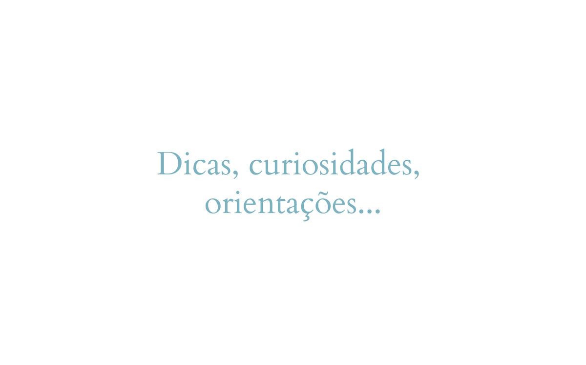Imagem capa - Dicas, curiosidades, orientações... por Sonia Colvara