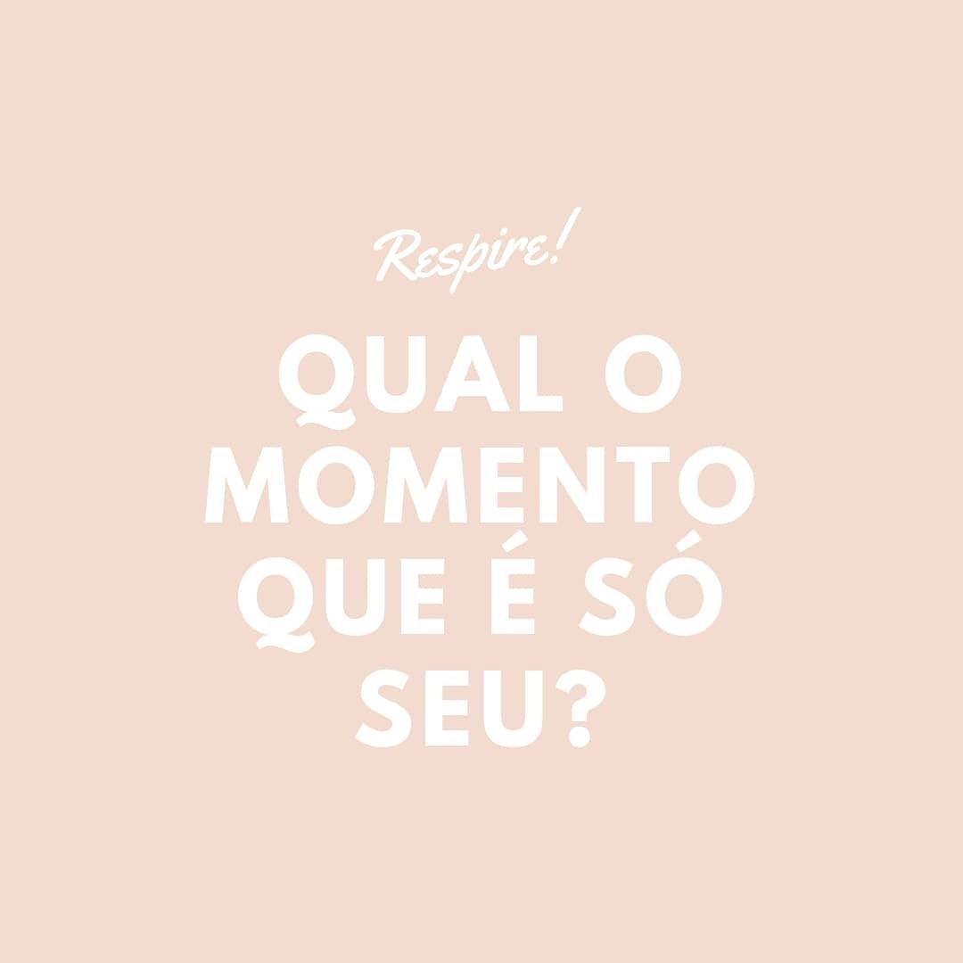 Imagem capa - Qual o momento que é só seu? por Daniela Lugarinho